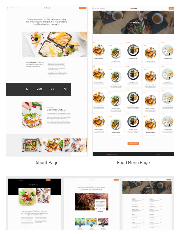 GoFoodie - A premium template kits for Elementor - 3