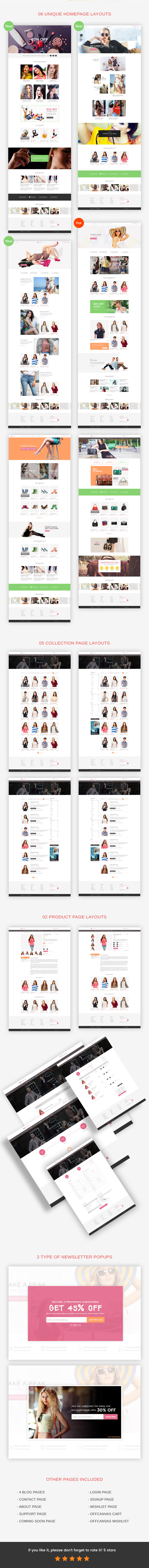 RAB - Fashion eCommerce HTML5 Template - 3